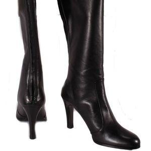 Ralph Lauren Beatrice Womens Leather Boots